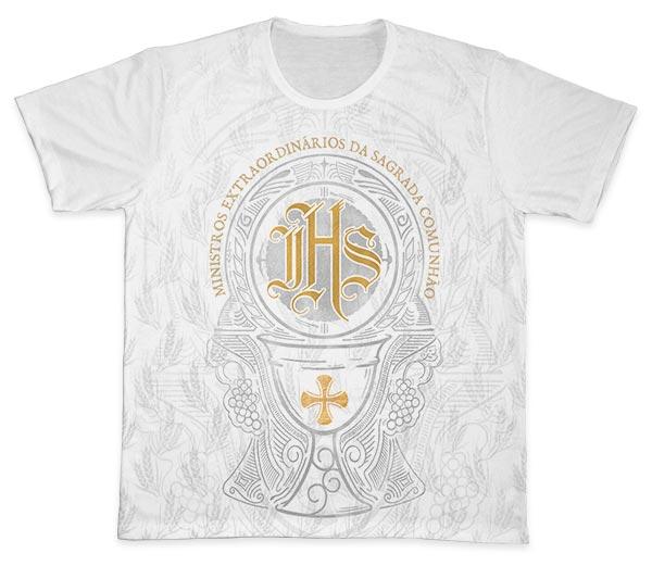 Camiseta Ref. 0898 - Ministros Extraordinários da Sagrada Comunhão
