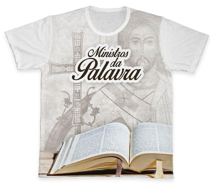 Camiseta REF.0911 - Ministros da Palavra  - Camisetas Sabatini