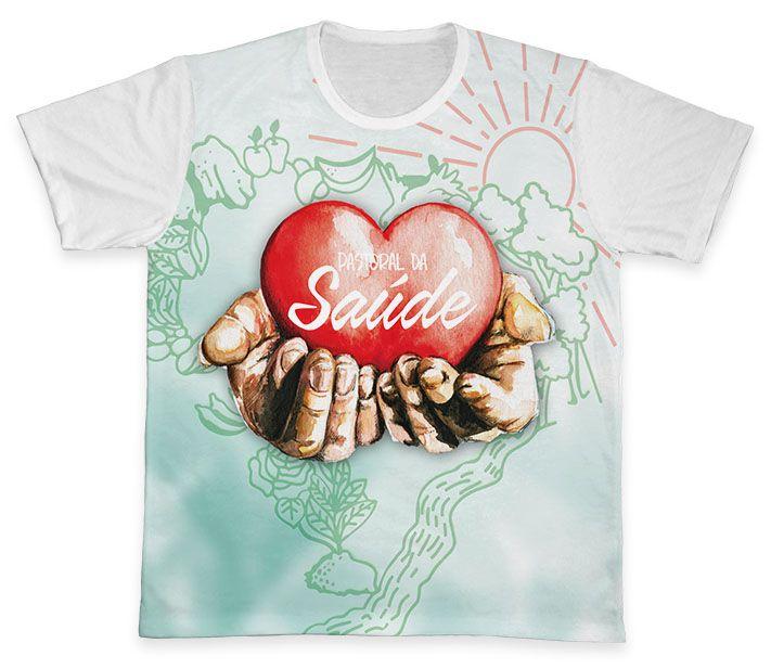 Camiseta REF.0955 - Pastoral da Saúde  - Camisetas Sabatini
