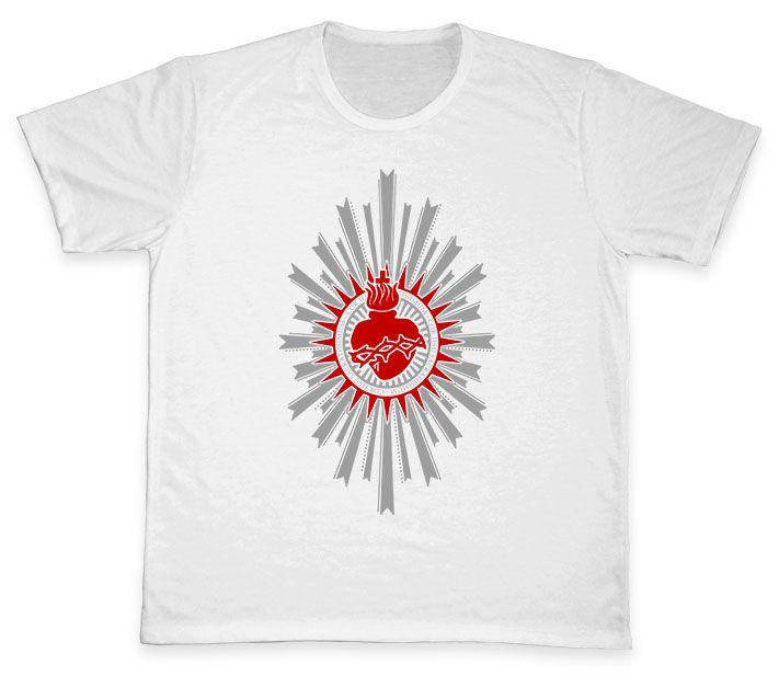 Camiseta Ref. 5021 - Sagrado Coração de Jesus