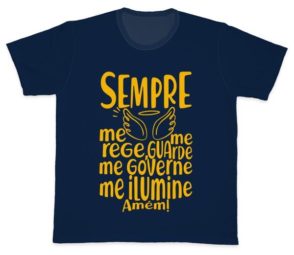 Camiseta Ref. 5081 - Santo Anjo - Oração