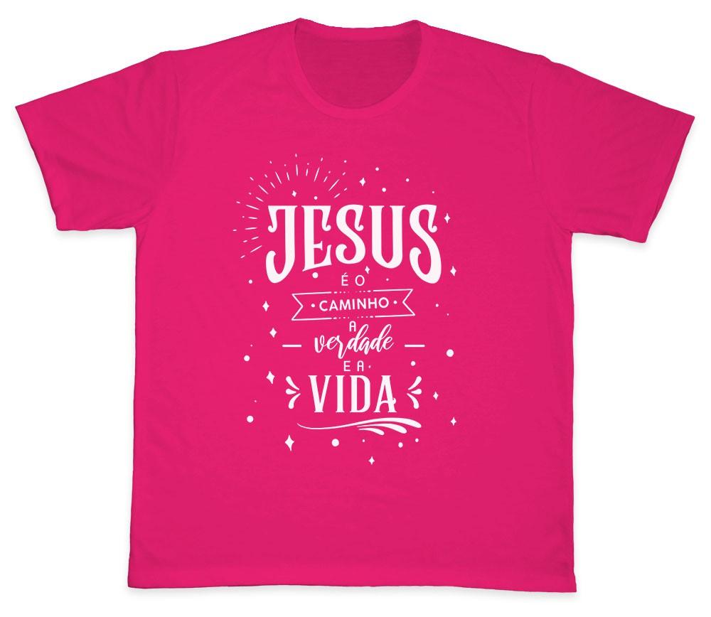 Camiseta Ref. 5191 - Jesus é o Caminho, a Verdade e a Vida