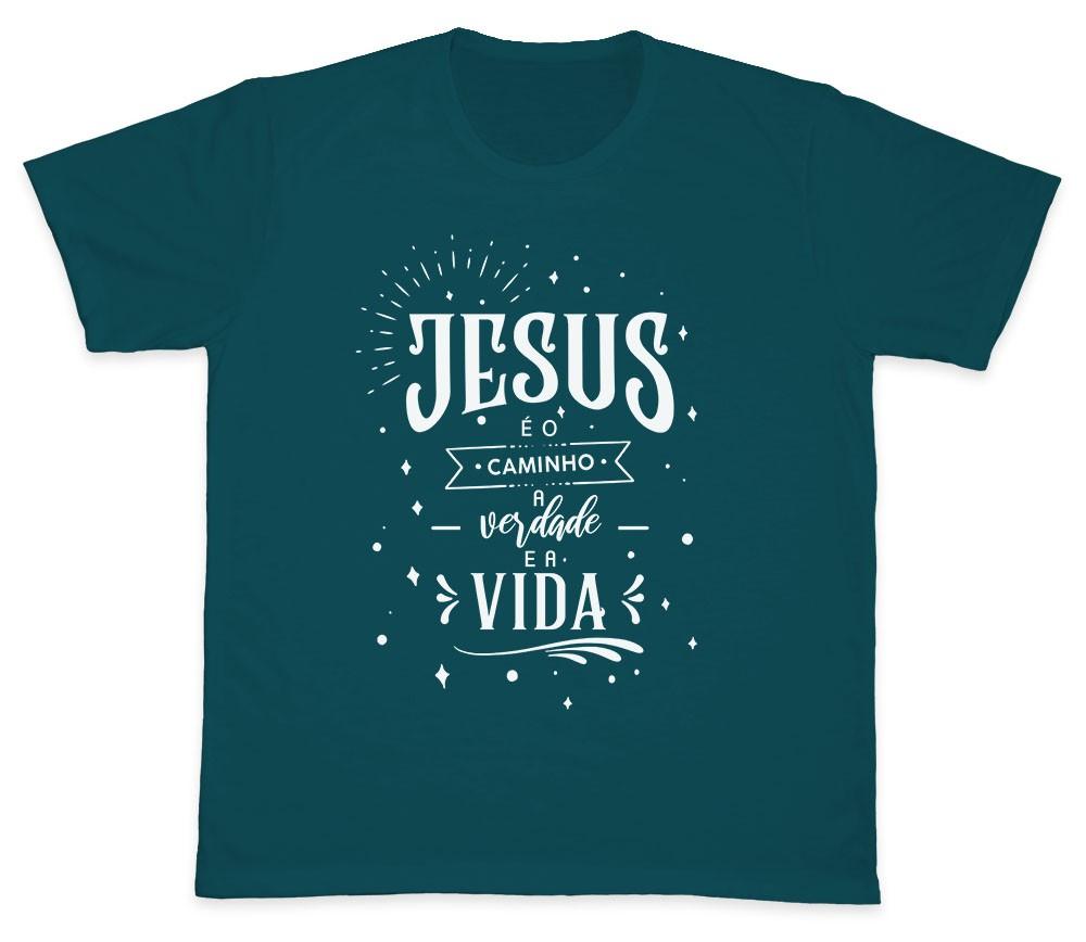Camiseta Ref. 5193 - Jesus é o Caminho, a Verdade e a Vida
