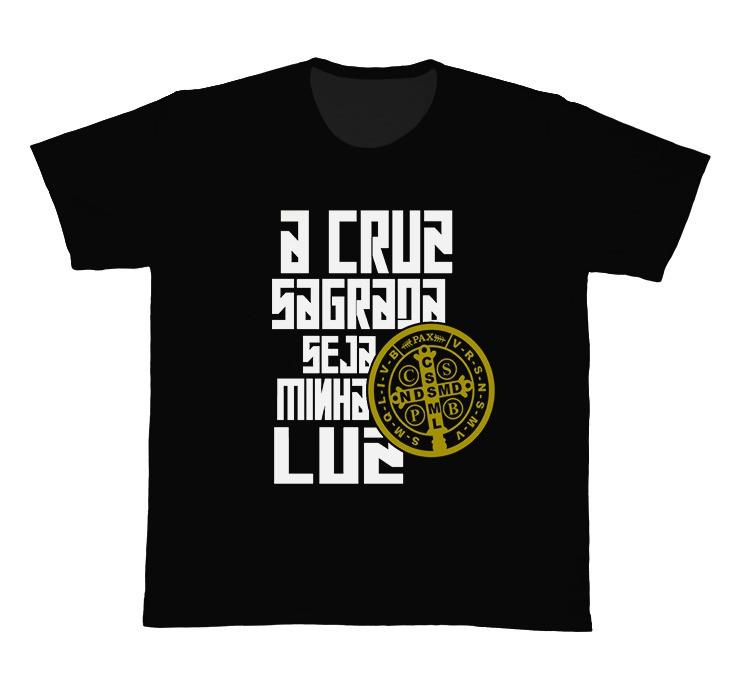 Camiseta Ref. 5302 - A Cruz Sagrada - São Bento