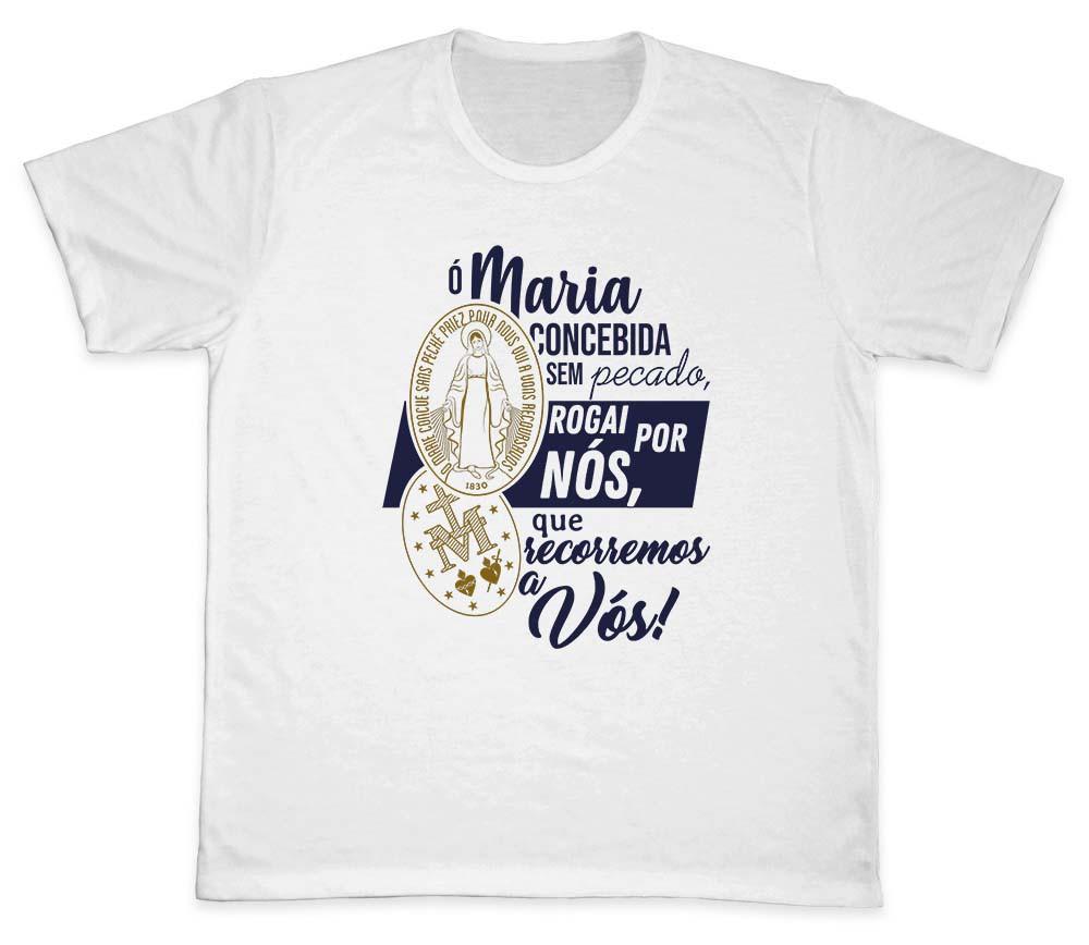 Camiseta Ref. 5324 - Medalha Milagrosa