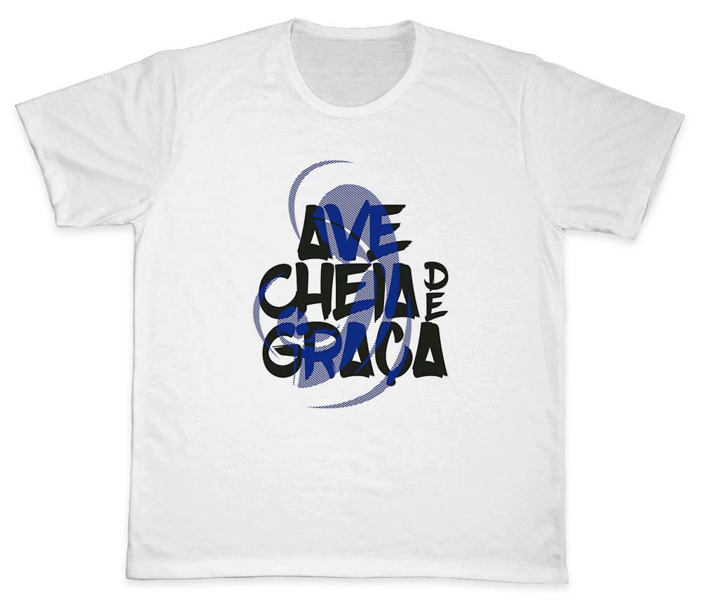 Camiseta Ref. 5331 - Ave cheia de Graça