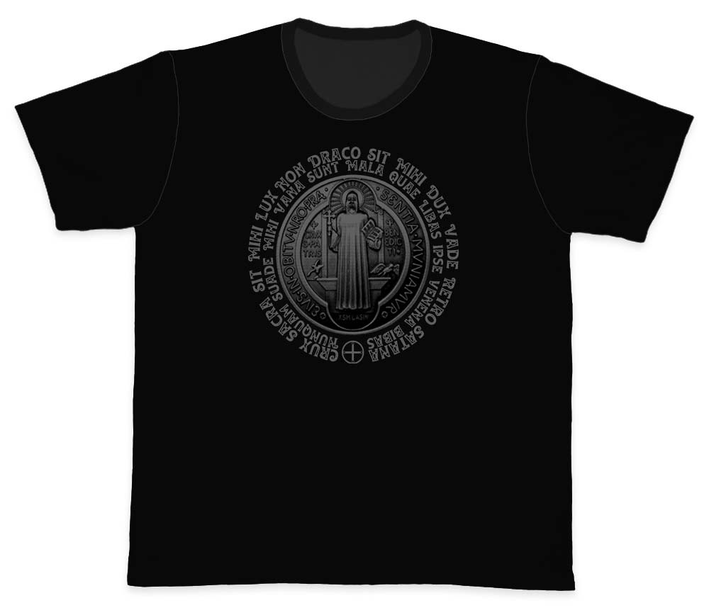 Camiseta Ref. 5501 - Medalha de São Bento
