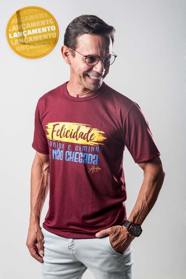 Camiseta Ref. 7025 - Felicidade
