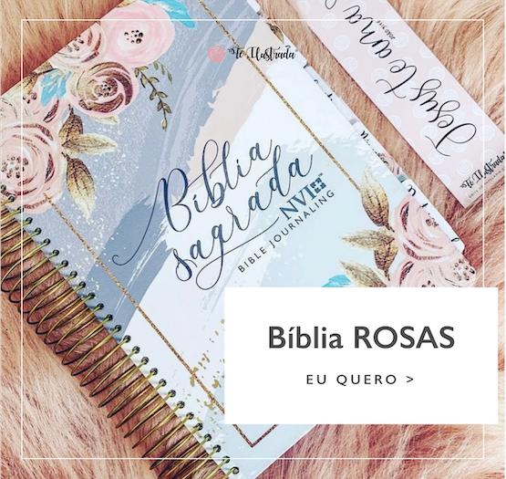 bíblia rosas fé ilustrada