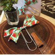 clips importado de tecido feito à mão (big-laço melancia)