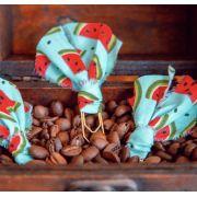 clips de tecido feito à mão (melancia)