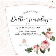 Workshop Bible Journaling Fé Ilustrada
