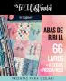 abas de bíblia - 66 livros e mais 6 abas extras