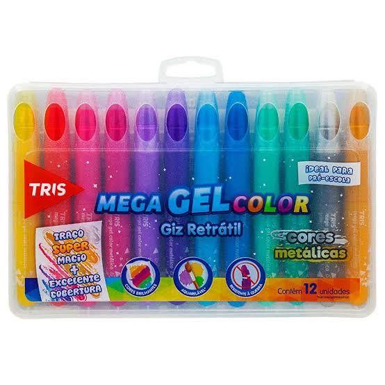 Aquarela em Gel [cores metálicas]