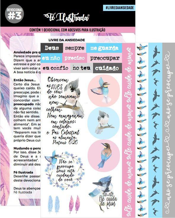 coleção devocionais 1 ao 10  -  Fé Ilustrada