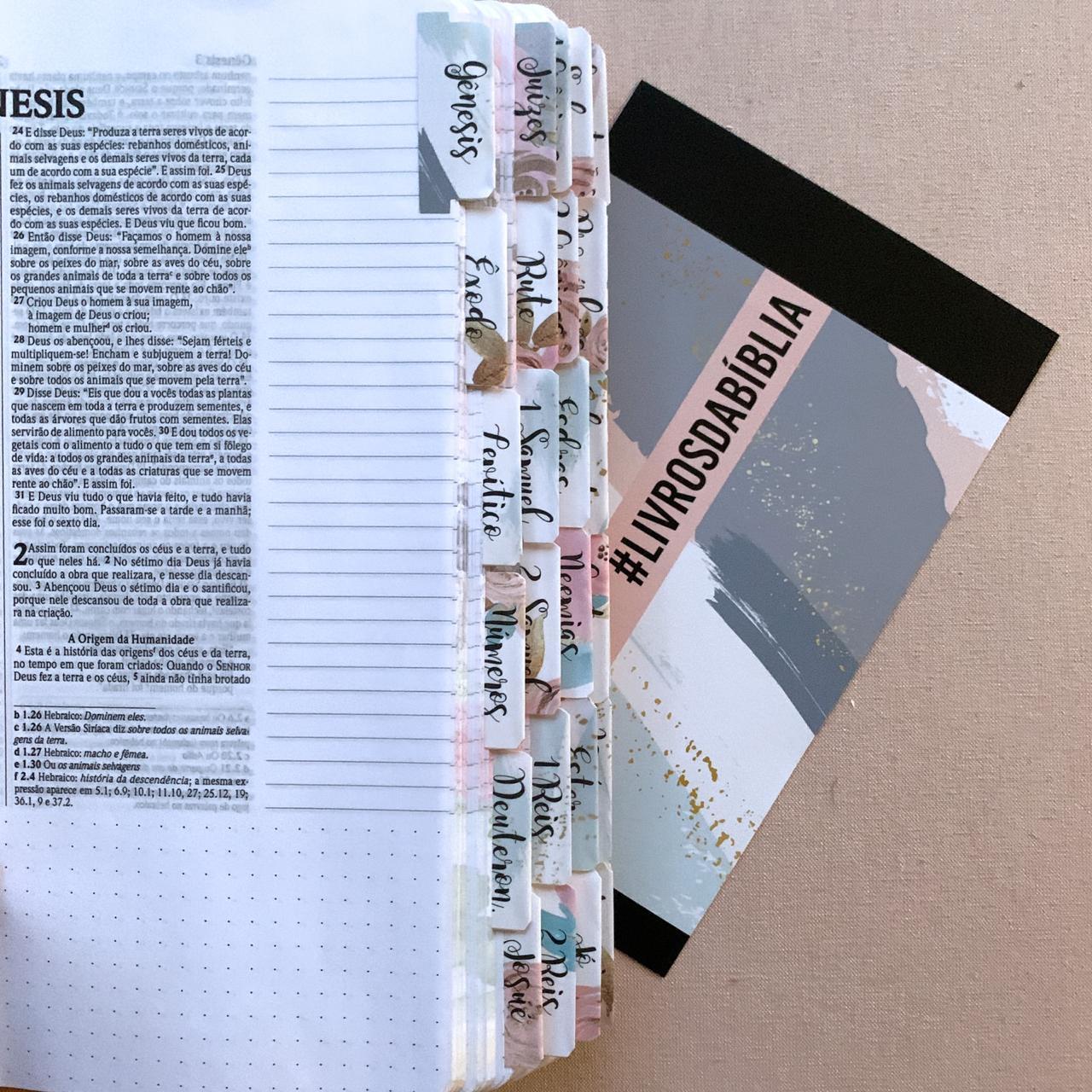Bíblia Fé Ilustrada + Abas Florais (EXCLUSIVO)