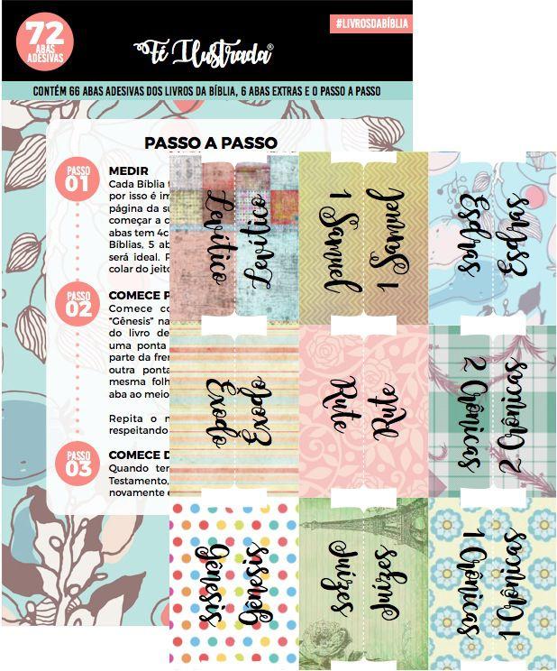 coleção devocionais 1 ao 5 + aba  -  Fé Ilustrada