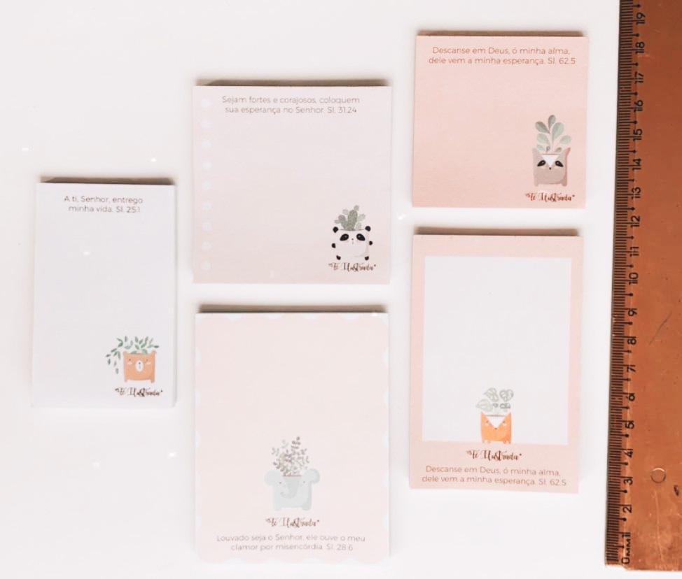 Kit Mini-Bloquinhos Vol.01 (com 5 unidades)