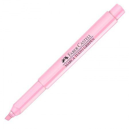caneta marca texto [tom pastel] rosa bebê faber castell  -  Fé Ilustrada