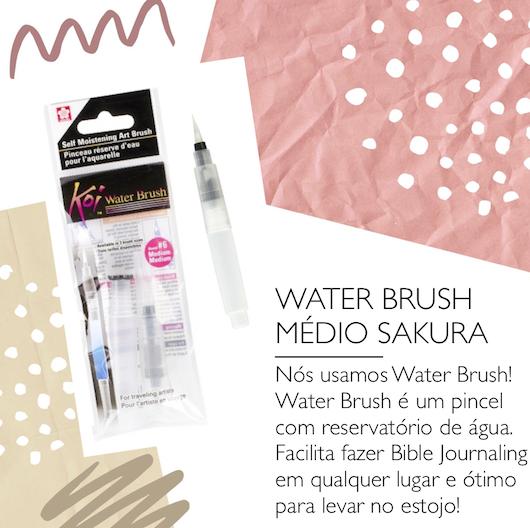 Pincel WATER BRUSH [CURTO] - Sakura