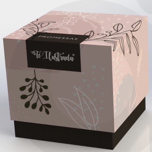 Cube Promessas - Caixa de promessas