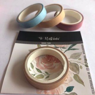 washi tape pistache   -  Fé Ilustrada