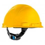Capacete Amarelo C/ Carneira Ajuste Fácil H-700 CA 29638/29637 3M