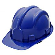 Capacete Azul C/ Carneira Pro Safety