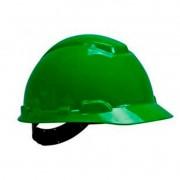 Capacete Verde C/ Carneira Ajuste Fácil H-700 CA 29638/29637 3M
