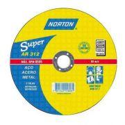 DISCO DE CORTE 12 X 1/8 X 3/4 AR312 NORTON
