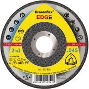 DISCO DE CORTE 4.1/2 X 1.2MM EDGE KLINGSPOR