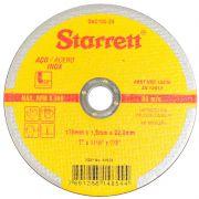 """Disco De Corte 7"""" X 1,6mm Starrett Inox"""