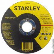 """Disco De Corte 7"""" X 3mm X 7/8 Stanley - Sta0411f"""