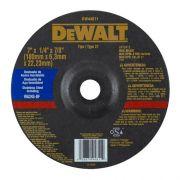 DISCO DE DESB. 7 X 6.3MM INOX DW44811 DEWALT