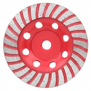 Disco De Desbaste Diamantado Turbo P/ Concreto 115MM 61753 CORTAG