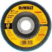 "Disco Flap 4.1/2"" Gr 40 Cerâmico Dual-Trim Dw8408t Dewalt"