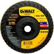 "Disco Flap 7"" Gr 60 Cerâmico Dual-Trim Dw8423t Dewalt"