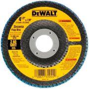 DISCO FLAP FIBRA 4.1/2 GR 60 DEWALT DW8308-AR