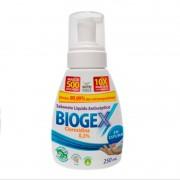 Sabonete Líquido Antisséptico BIOGEX 250ML NUTRIEX