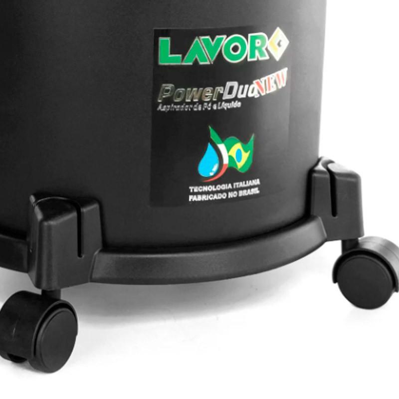 Aspirador Pó /Líquido Power Duo NEW 110V LAVOR
