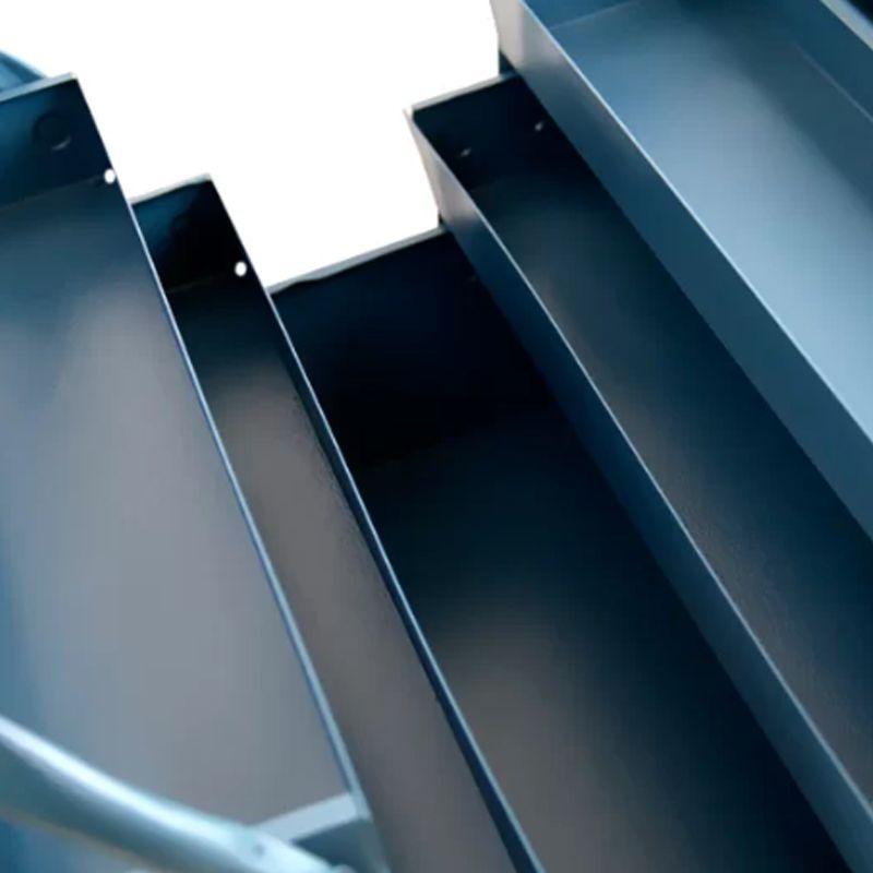 Caixa De Ferramentas Chapa De Ferro 5 Gavetas X 50cm Marcon