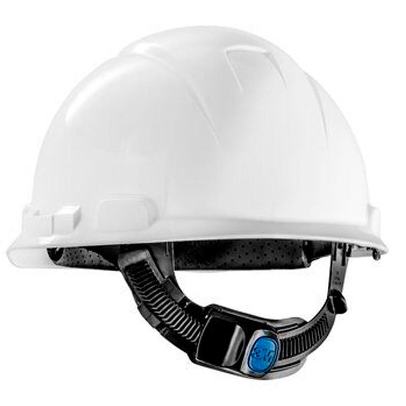 Capacete Branco C/ Carneira Ajuste Fácil H-700 CA 29638/29637 3M