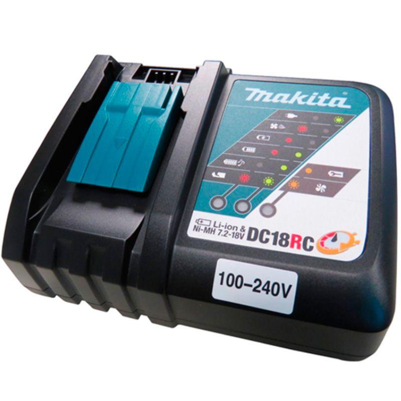 Carregador De Bateria Bivolt Dc18rc 197522-0 Makita