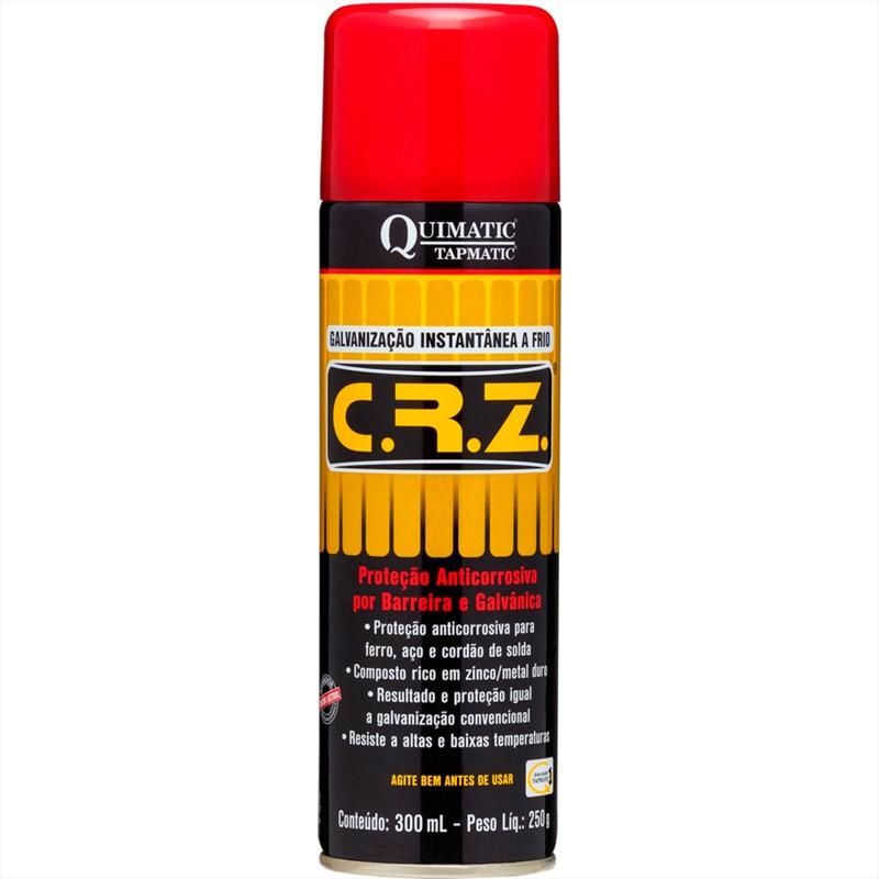 CRZ - Galvanização A Frio Spray 300ML QUIMATIC TAPMATIC
