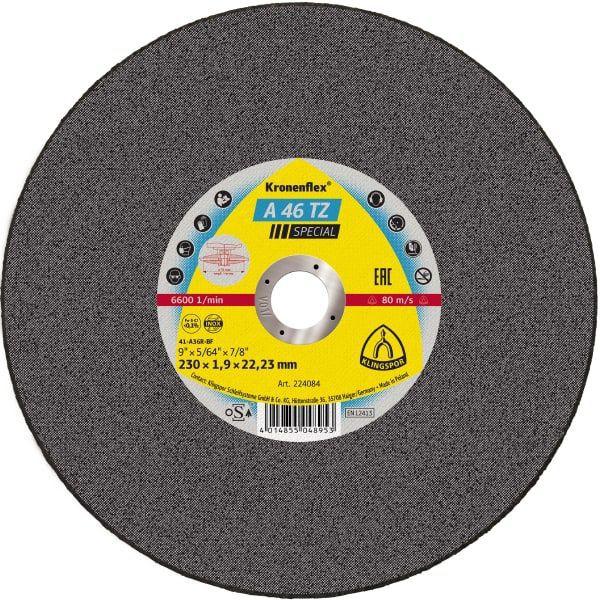 """Disco De Corte 4.1/2"""" X 1.6mm A46tz Klingspor"""