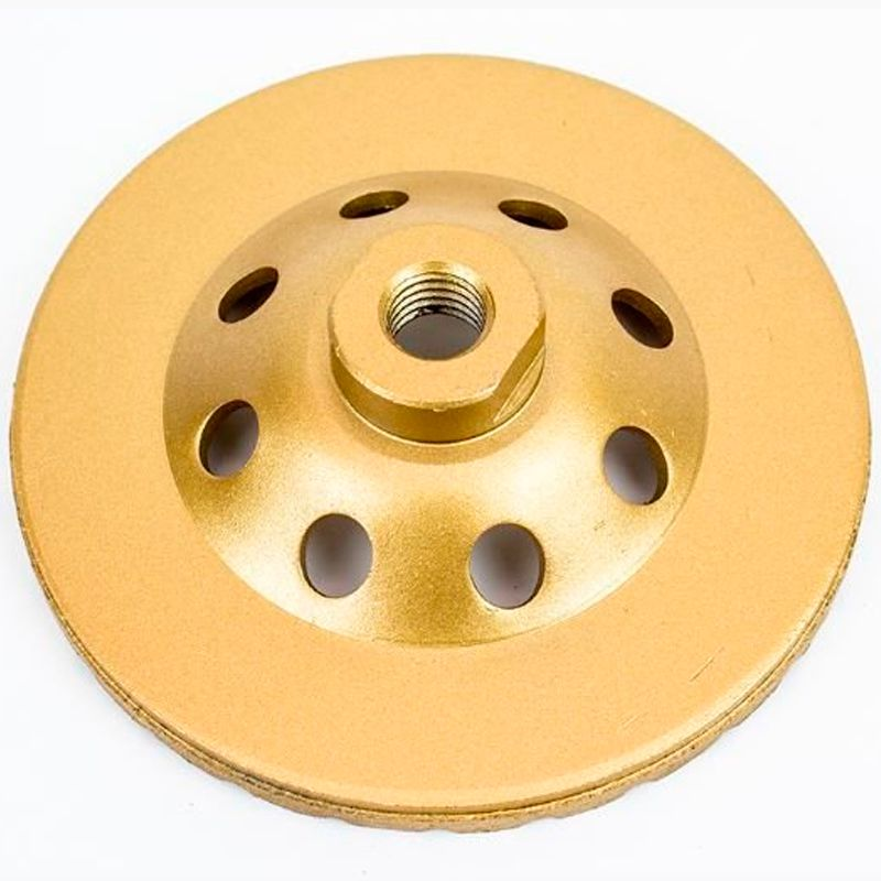 Disco De Desbaste Diamantado P/ Concreto Turbo 115mm Rosca M14
