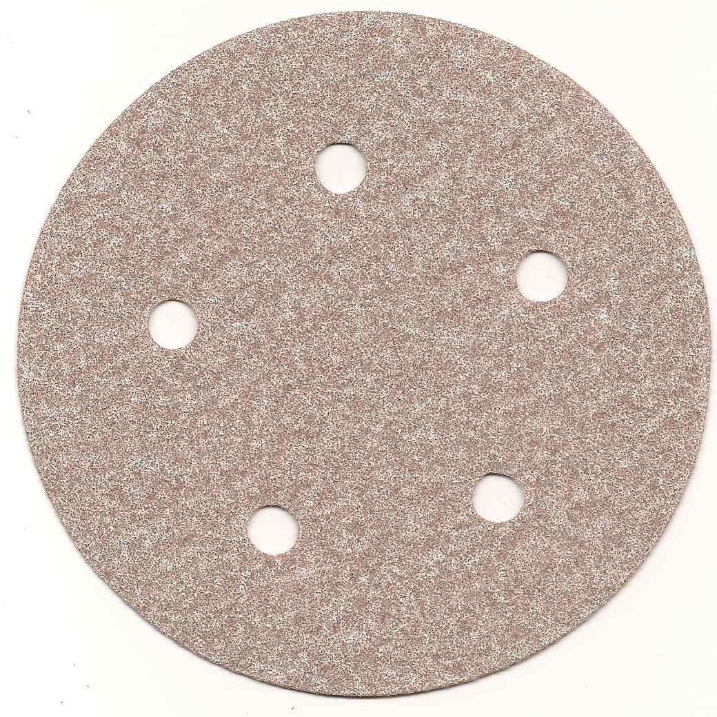 Disco De Lixa C/ Velcro 6' C/ 6 Furos Gr 320 A275 Norton