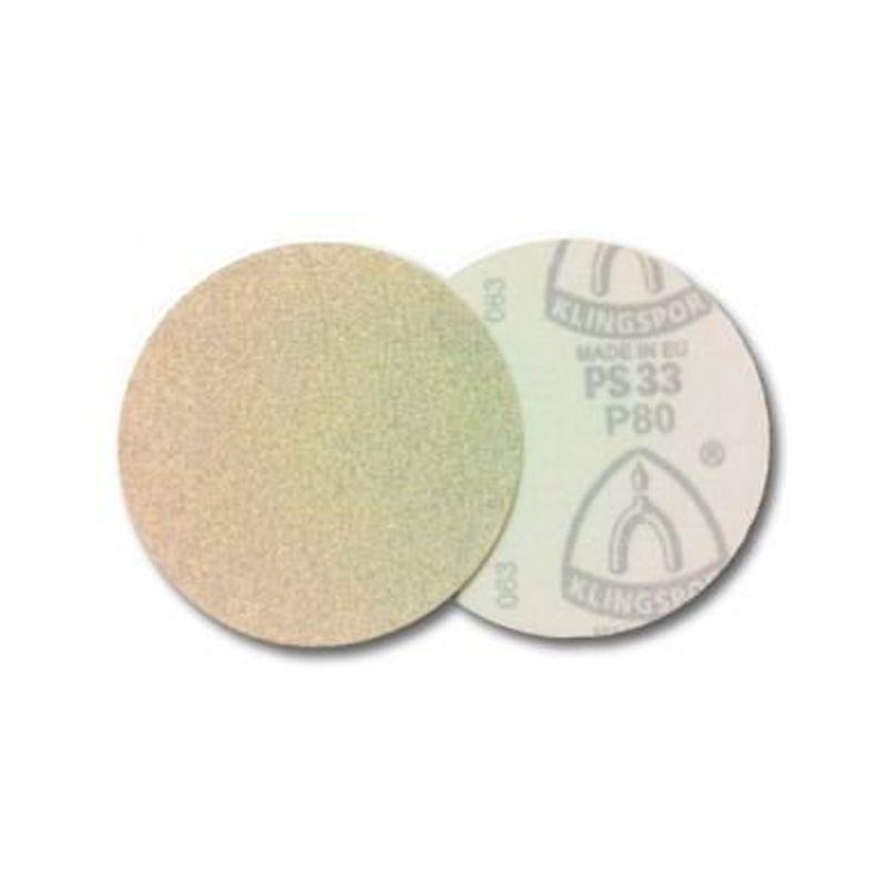 """Disco De Lixa C/ Velcro 6"""" S/ Perfuração Gr220 Ps33bk Klingspor"""