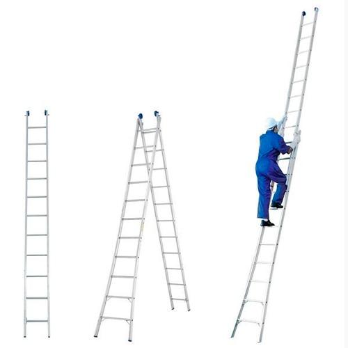 Escada Extensível Alumínio 11 Degraus (3,57 - 6,27MTS) RL