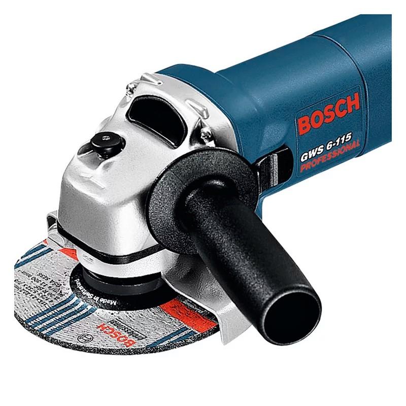 """Esmerilhadeira 4.1/2"""" 670W GWS 6 -115  220V Bosch"""